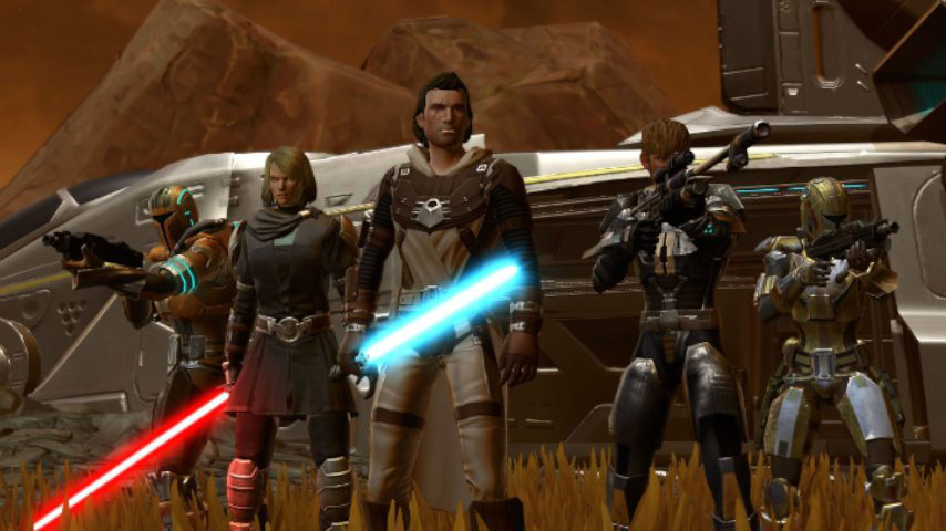 137 juegos de Star Wars - The Old Republic
